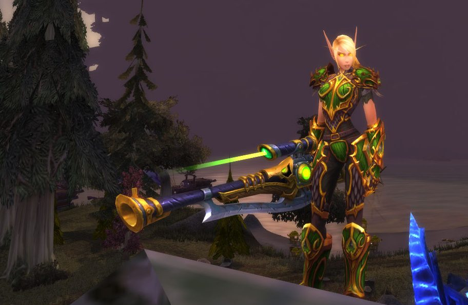 Choosing a main for BfA: Part 2 – A Nerd, Rooted