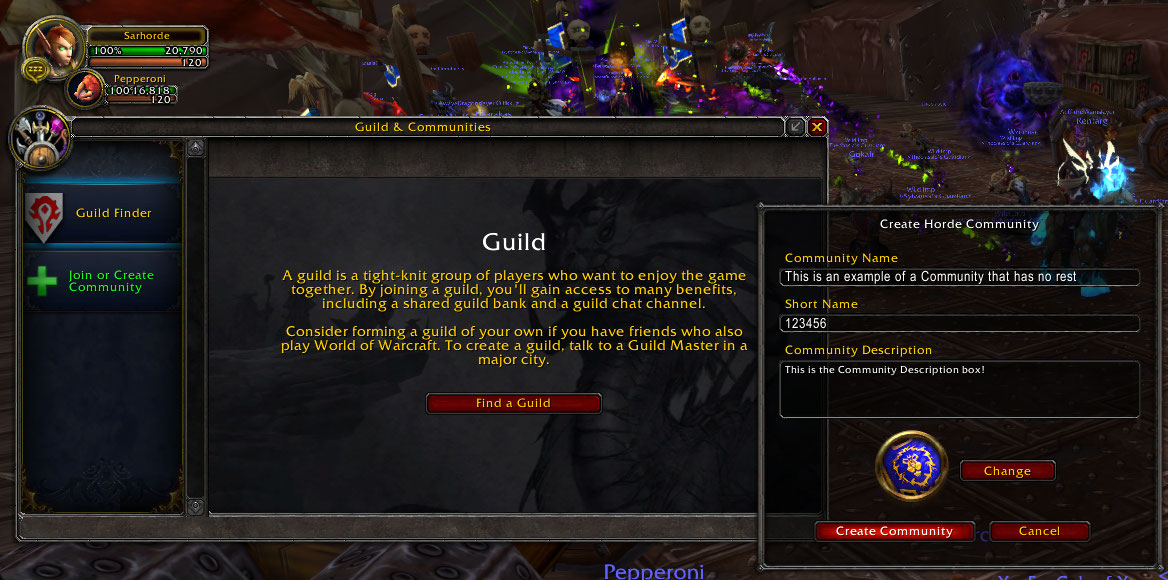 Image result for How to Leave a Guild in WoW
